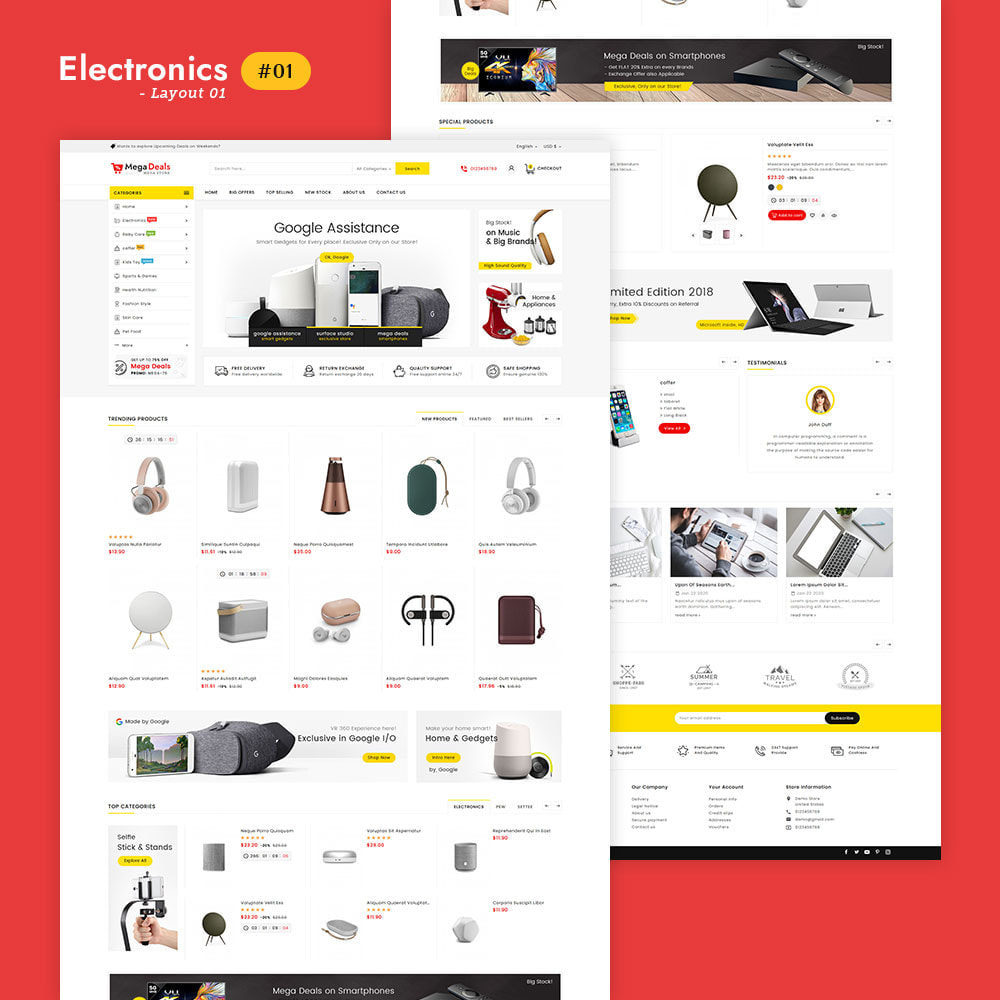 theme - Elektronik & High Tech - Mega Deals - Multi-purpose Mega Store - 2