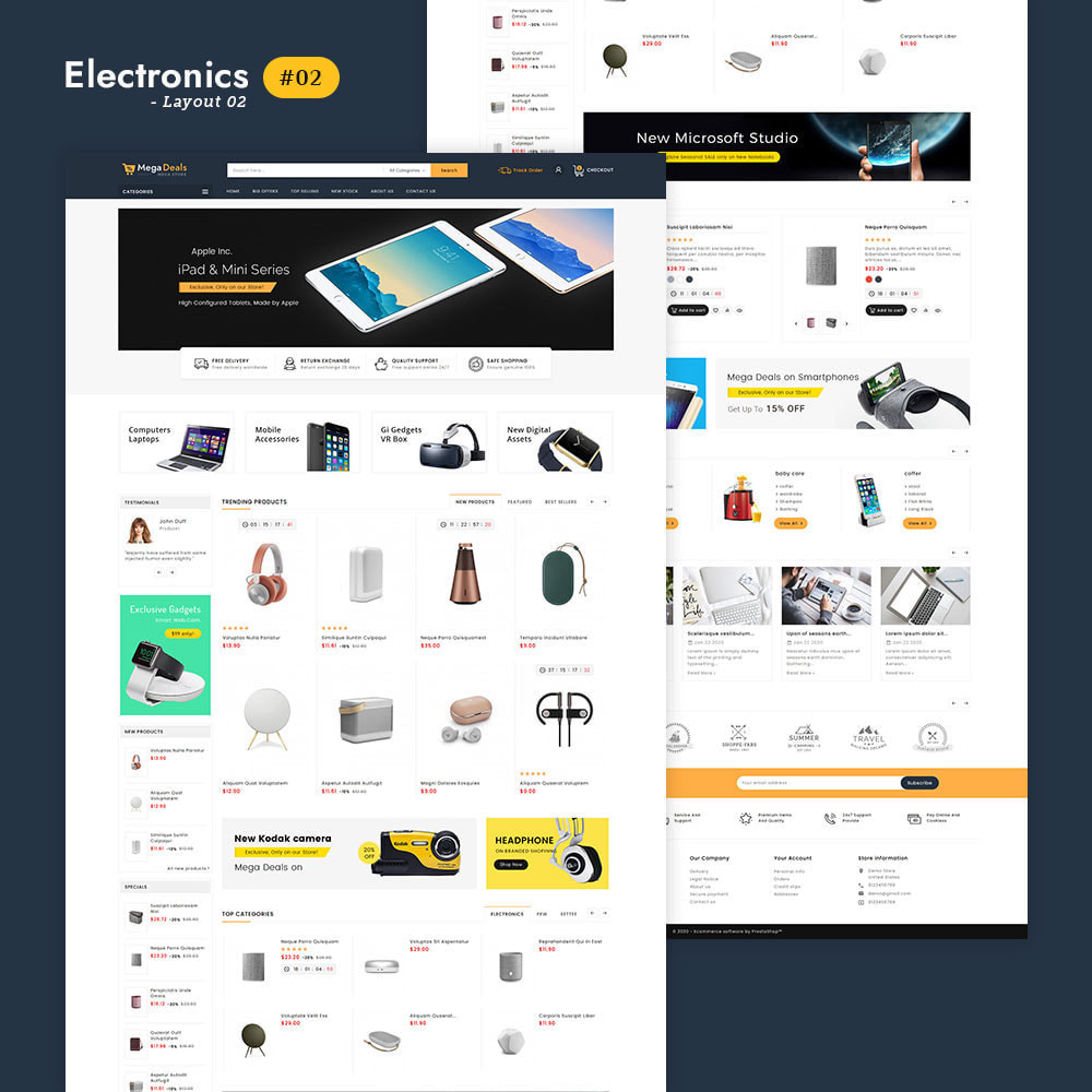 theme - Elektronik & High Tech - Mega Deals - Multi-purpose Mega Store - 3