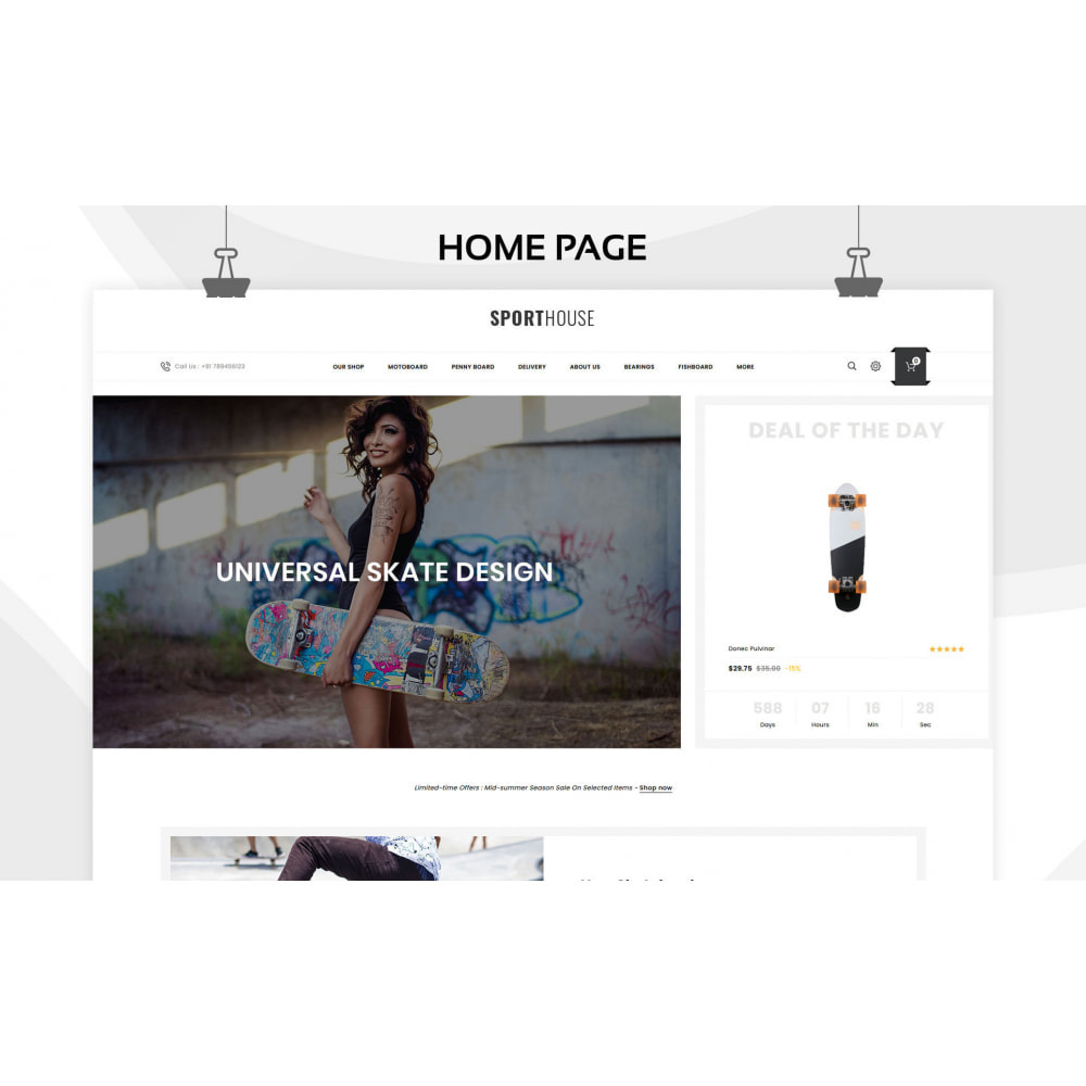 theme - Sports, Activities & Travel - Sport House Online Sports Store - 6