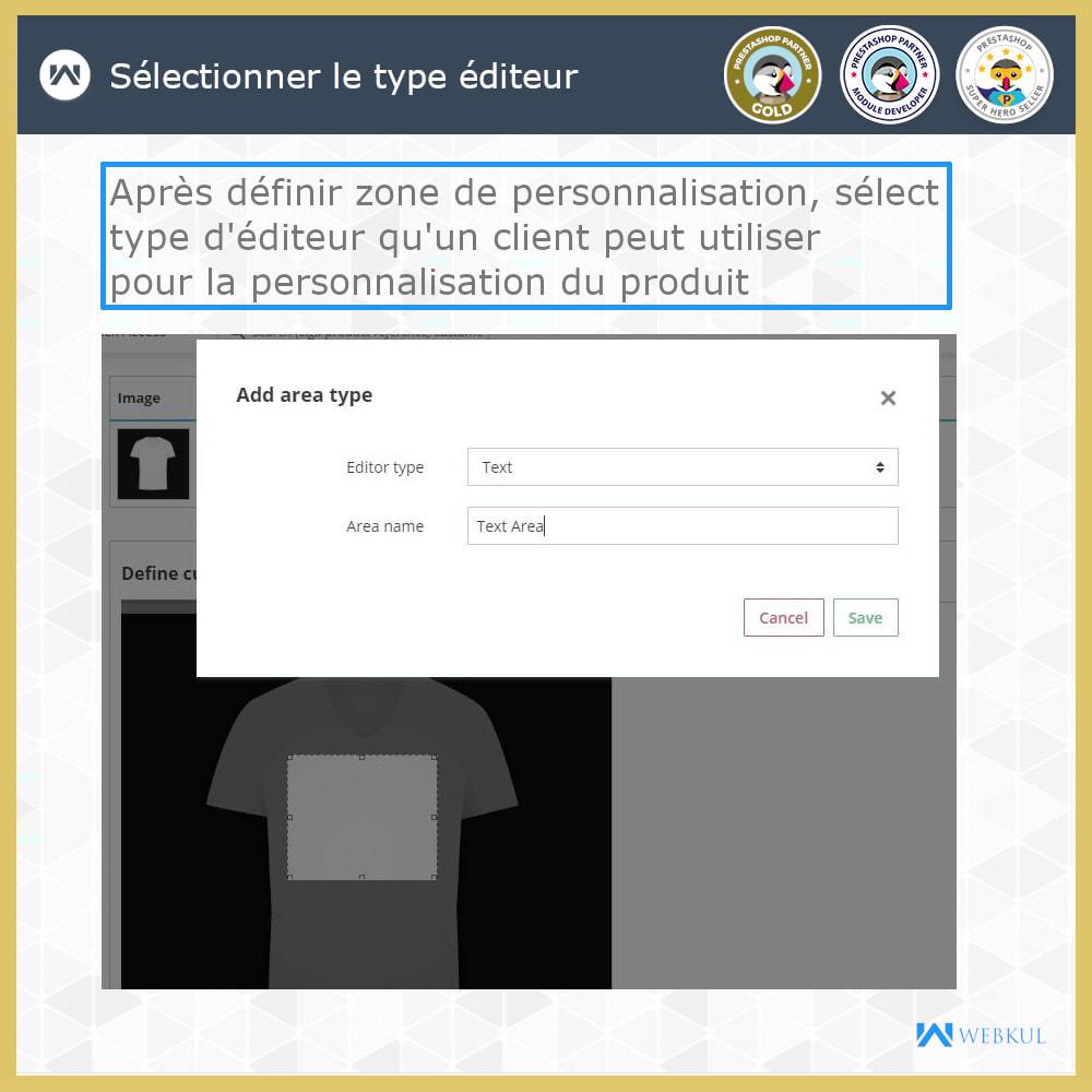 module - Déclinaisons & Personnalisation de produits - Web à Imprimer - Personnaliser le Produit - 10