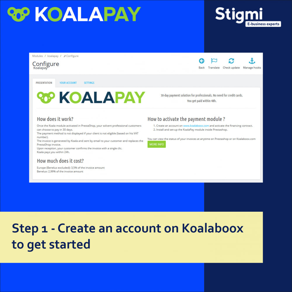 module - Betaling per Factuur - KoalaPay – 30-day B2B payment & invoice factoring - 3