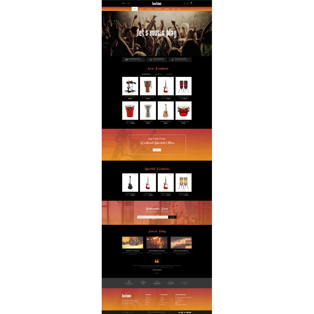 theme - Arte & Cultura - Beatmus - Musical Instrument Store - 2