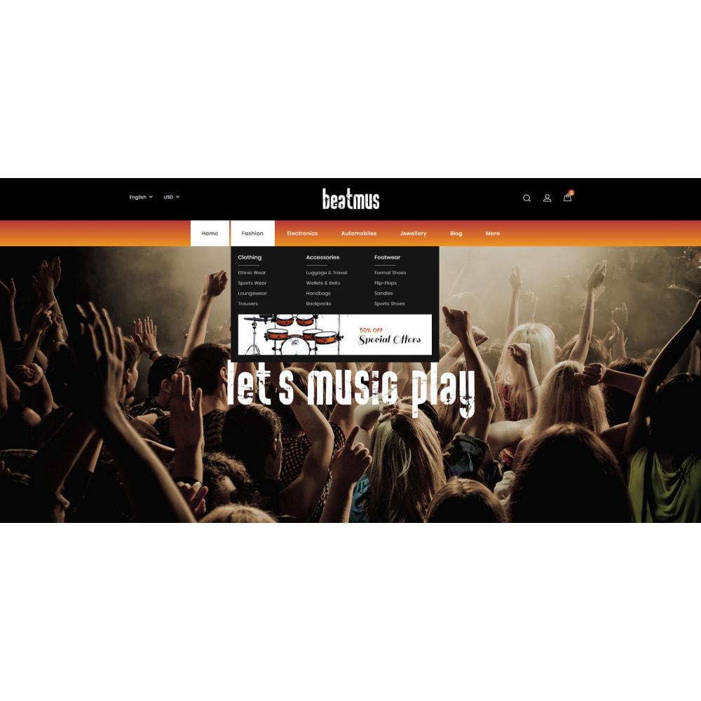 theme - Arte & Cultura - Beatmus - Musical Instrument Store - 6