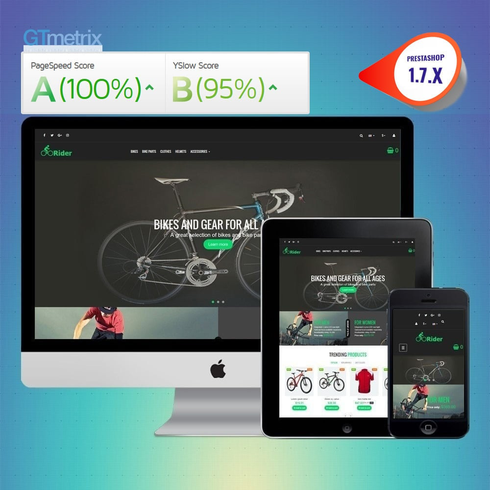 theme - Desporto, Actividades & Viagens - VP_Rider - Page Builder - 1