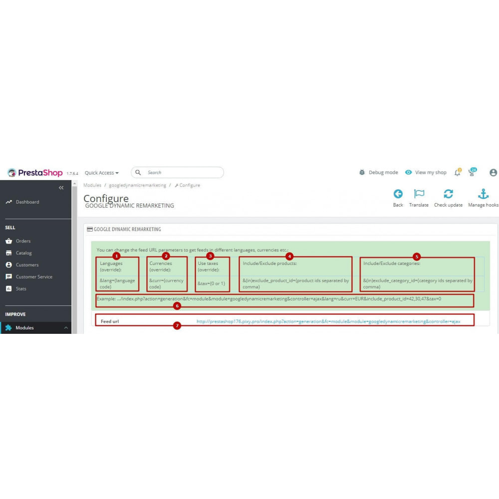 module - Remarketing & Paniers Abandonnés - Google Dynamic Remarketing (AdWords feed) - 8