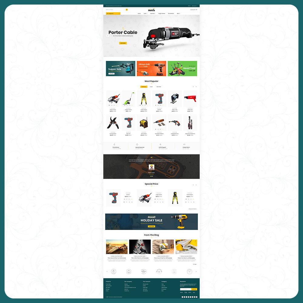 theme - Automotive & Cars - Utensili–Matco–Tools Super Store - 2