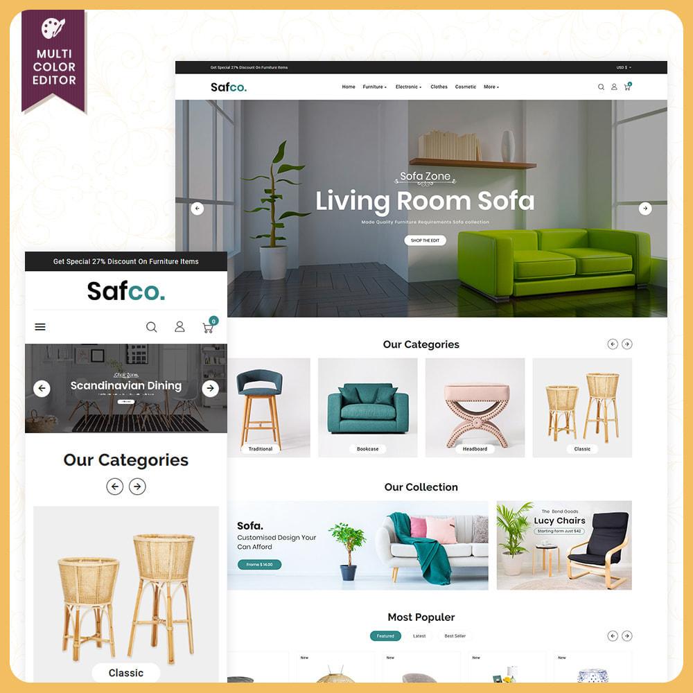 theme - Home & Garden - Bois Safco - Furniture Mega Mall - 1