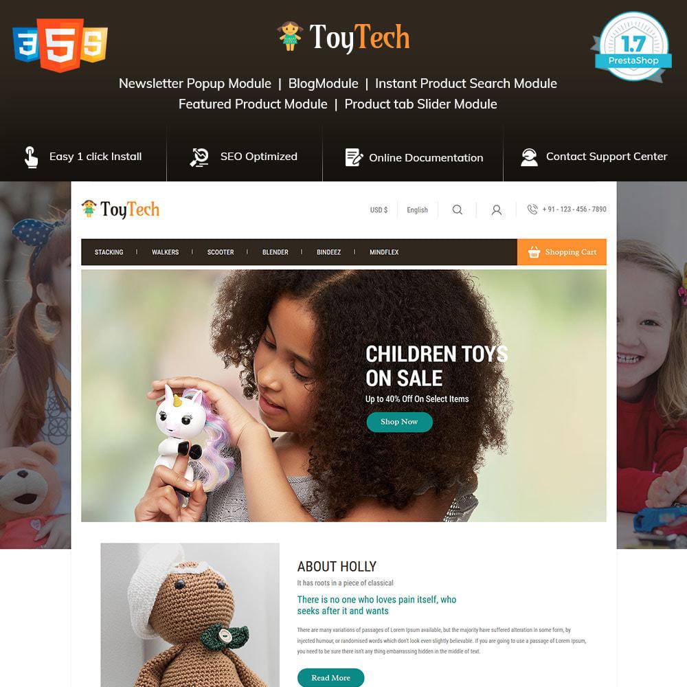 theme - Crianças & Brinquedos - Toy Kids - Dream Baby Teddy Children Store - 1