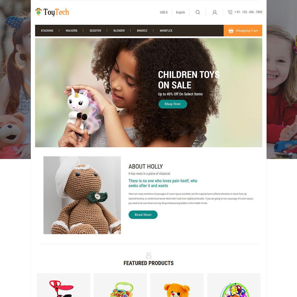theme - Crianças & Brinquedos - Toy Kids - Dream Baby Teddy Children Store - 2