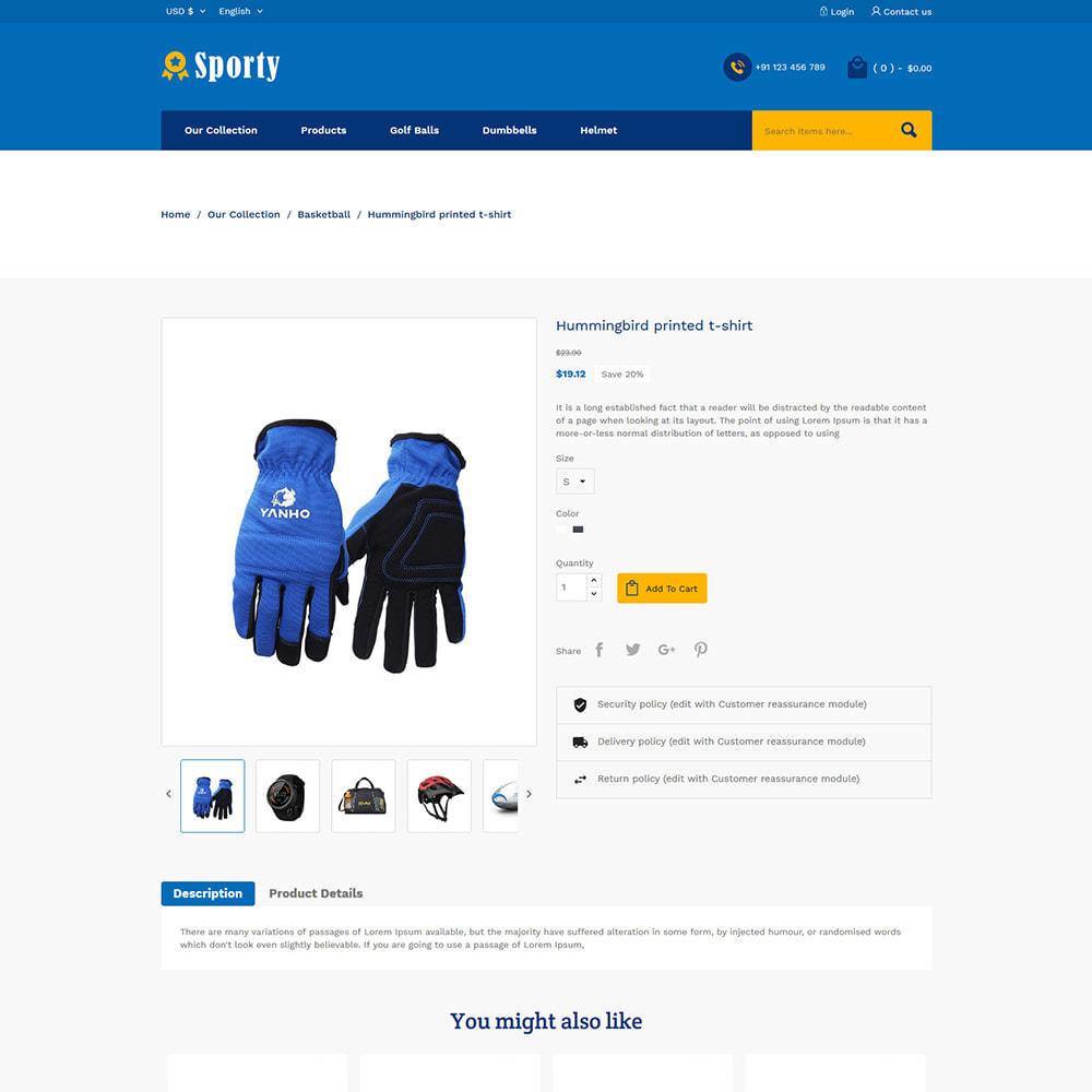 theme - Спорт и Путешествия - Sportswear Fashion - Travel Designer Store - 5