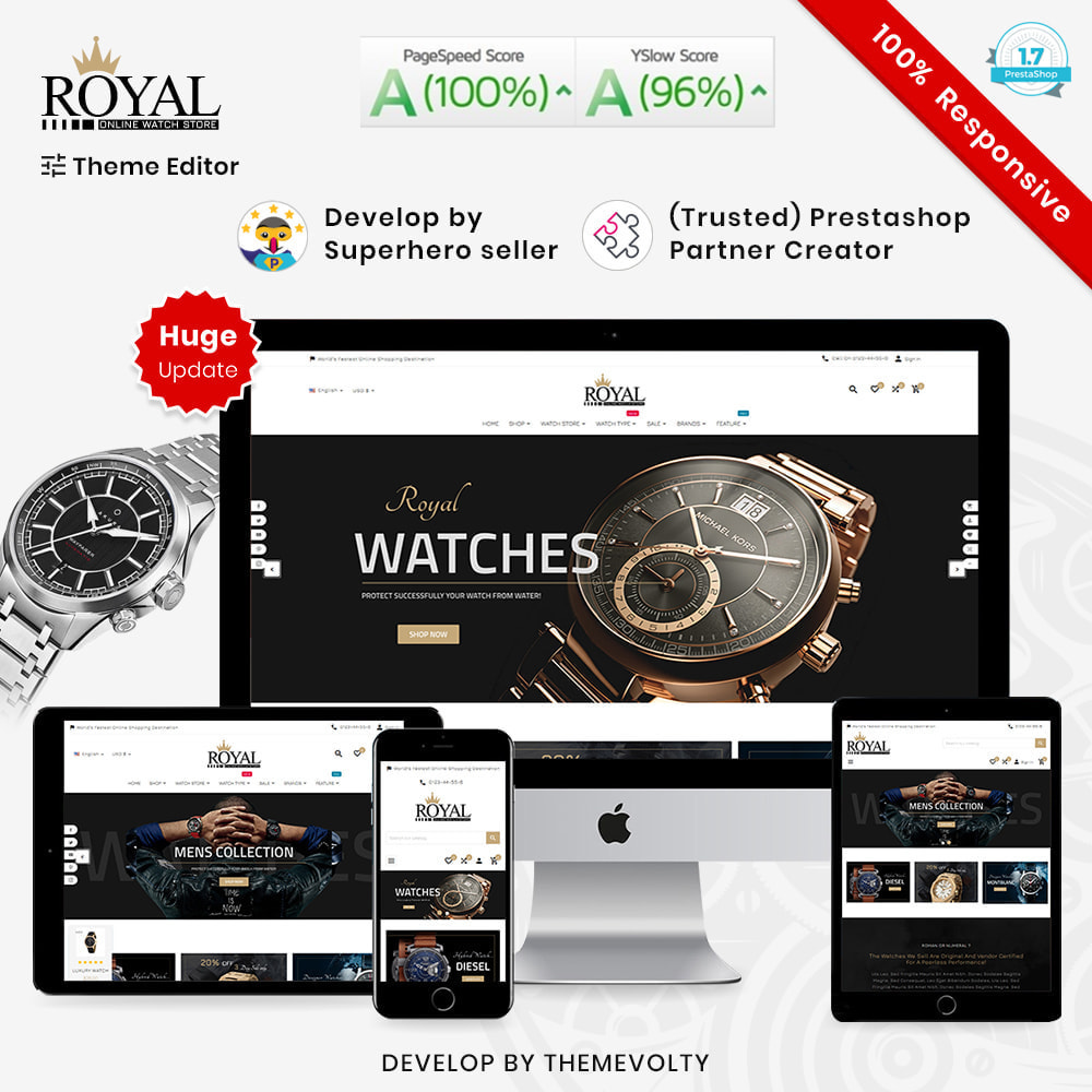 theme - Bijoux & Accessoires - Royal Mega Watch–Jewelry Multipurpose Super Store - 1