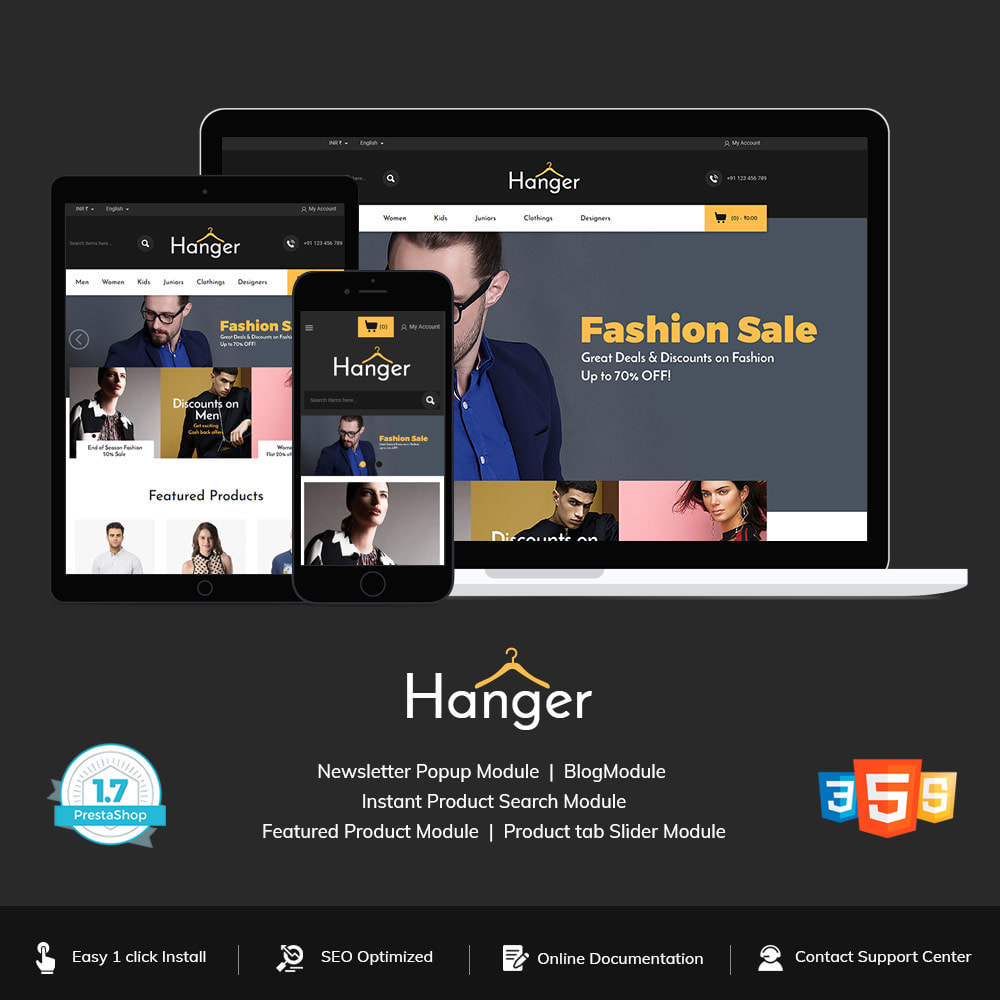 theme - Fashion & Shoes - Designer  Bag -  Clothes Fashion Store - 1