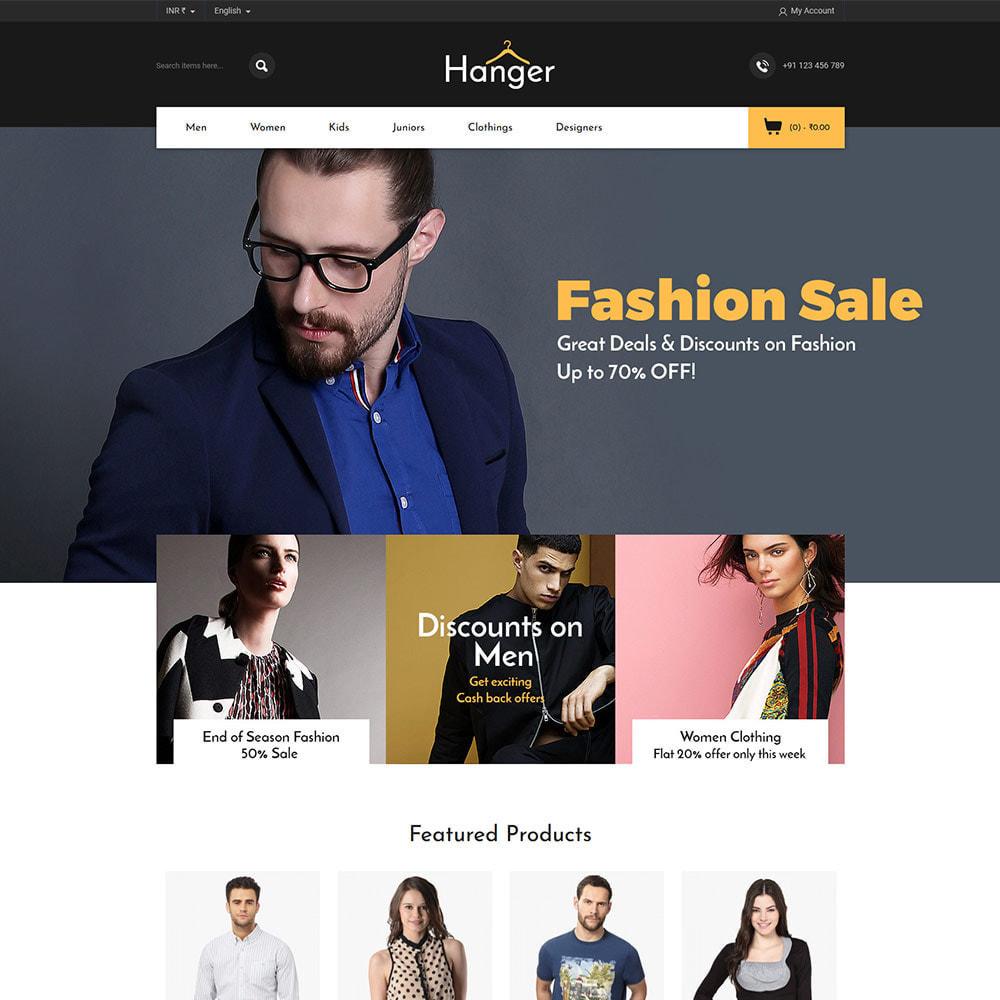 theme - Fashion & Shoes - Designer  Bag -  Clothes Fashion Store - 2