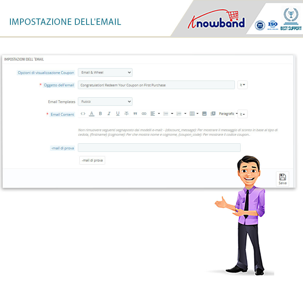 module - Promozioni & Regali - Knowband-Entry,Exit and Subscription Popup-Spin and Win - 4