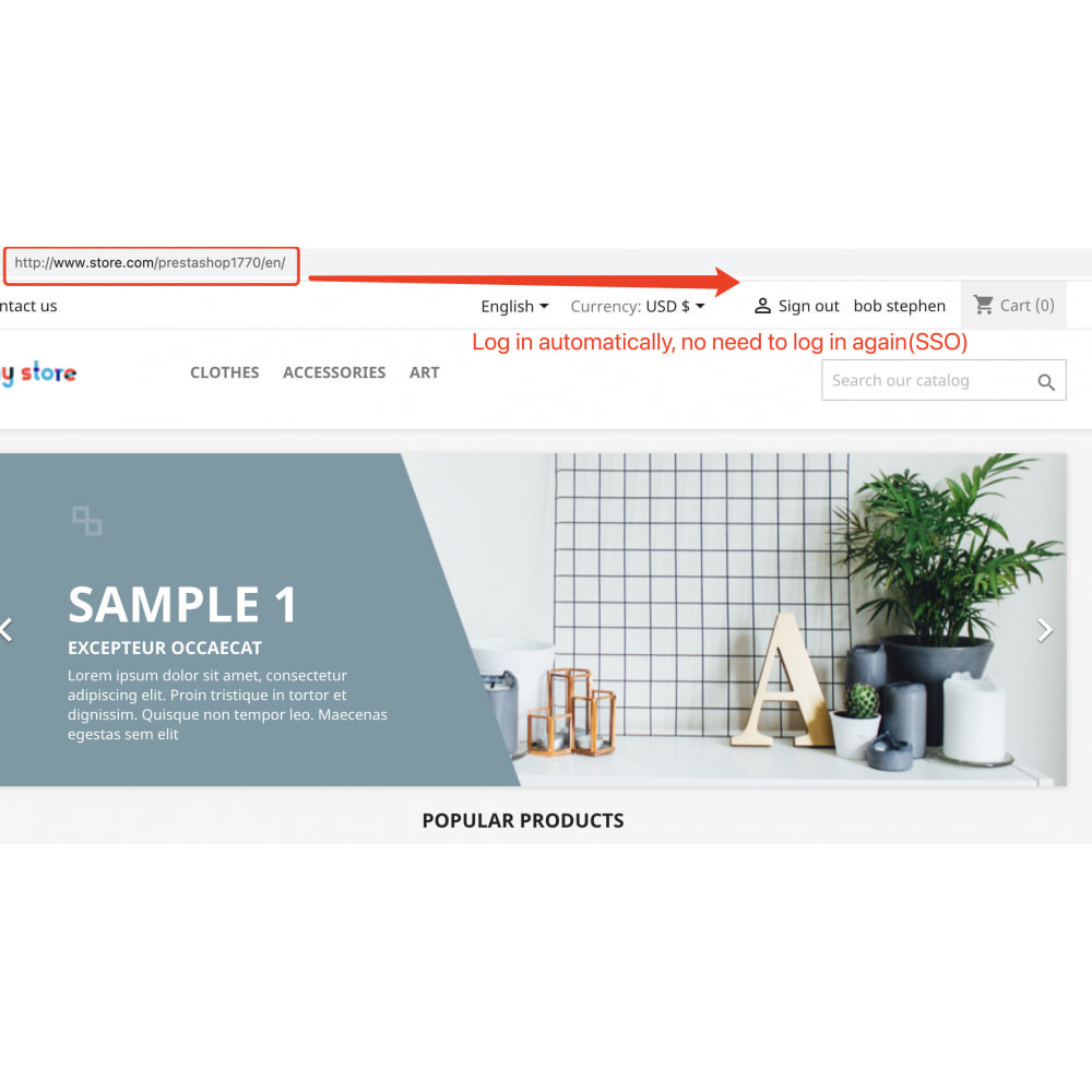module - Customer Service - Customers multi-store single sign-on(SSO) shared login - 5