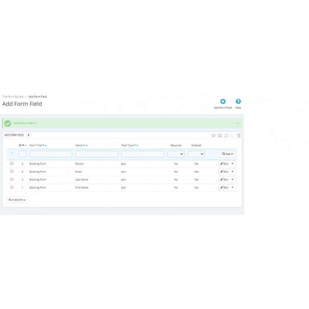 module - Contact Forms & Surveys - Form Builder Pro - 8