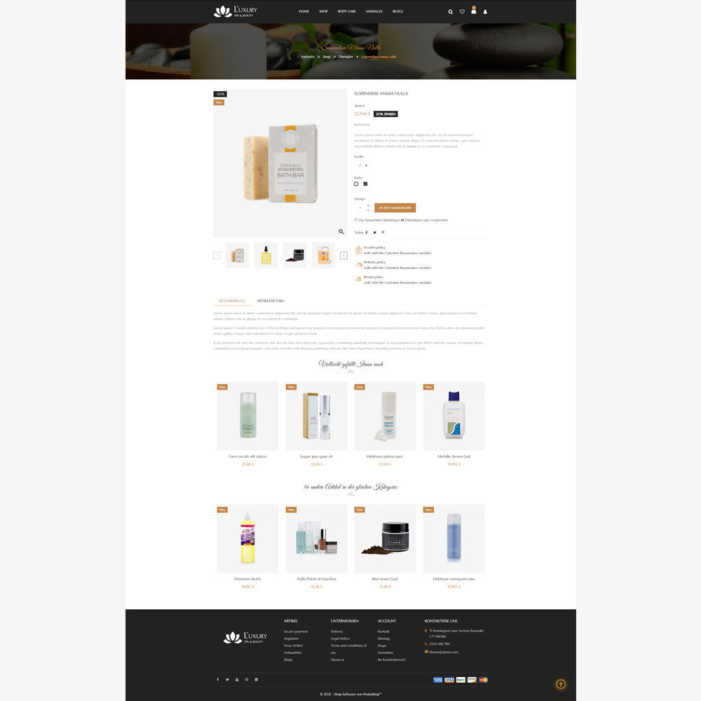 theme - Gesundheit & Schönheit - Spa - Responsive Store - 4