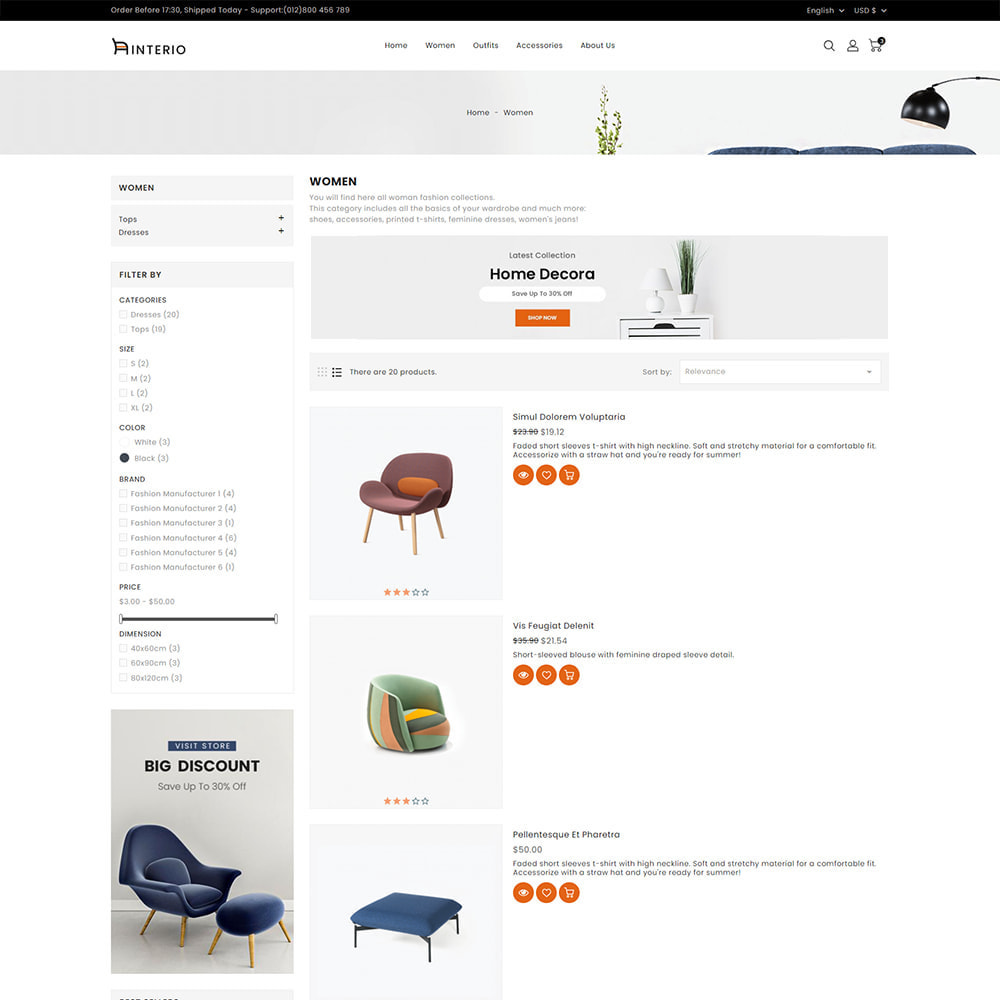 theme - Casa & Jardins - Interio Furniture Store - 5