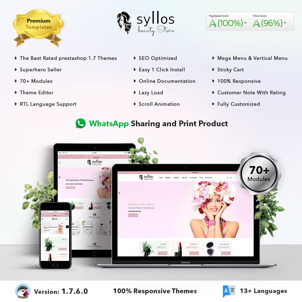 theme - Health & Beauty - Syllos Beauty Store - 1