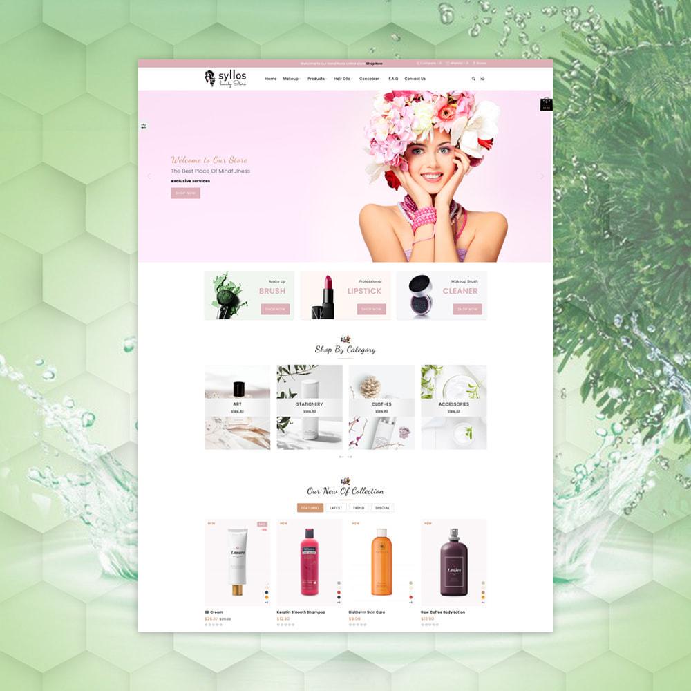 theme - Health & Beauty - Syllos Beauty Store - 2