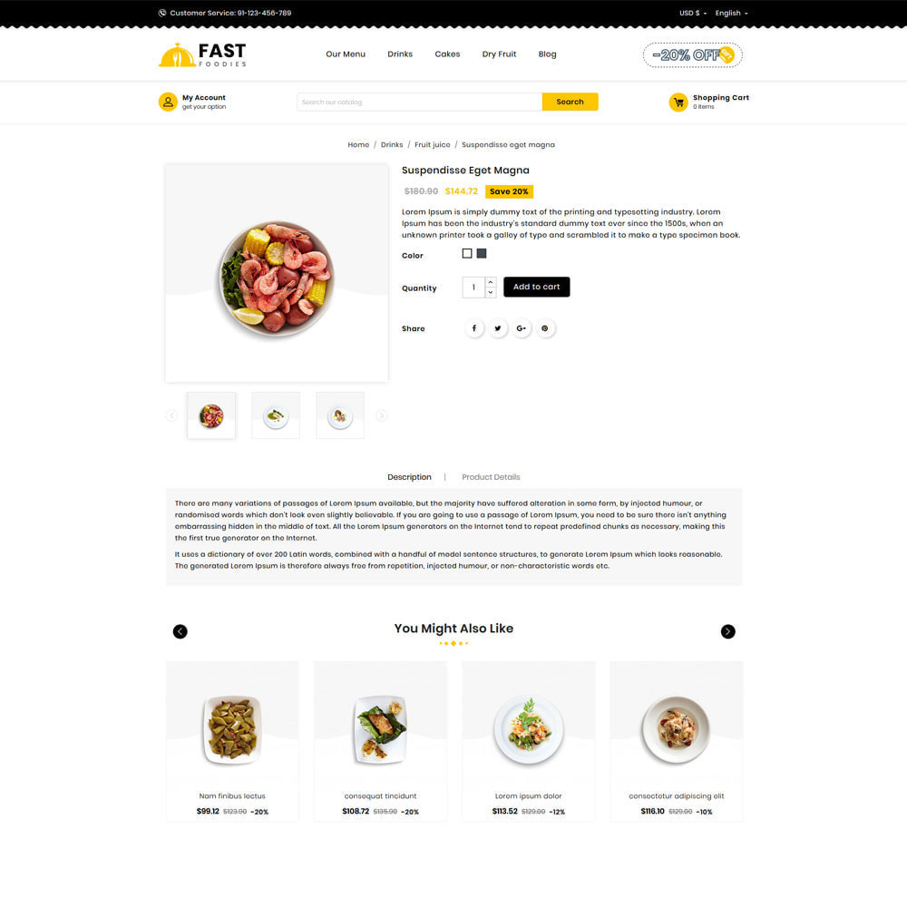 theme - Food & Restaurant - Fast Food - Store - 3
