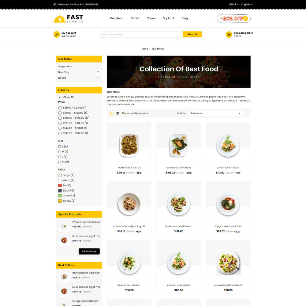 theme - Food & Restaurant - Fast Food - Store - 4