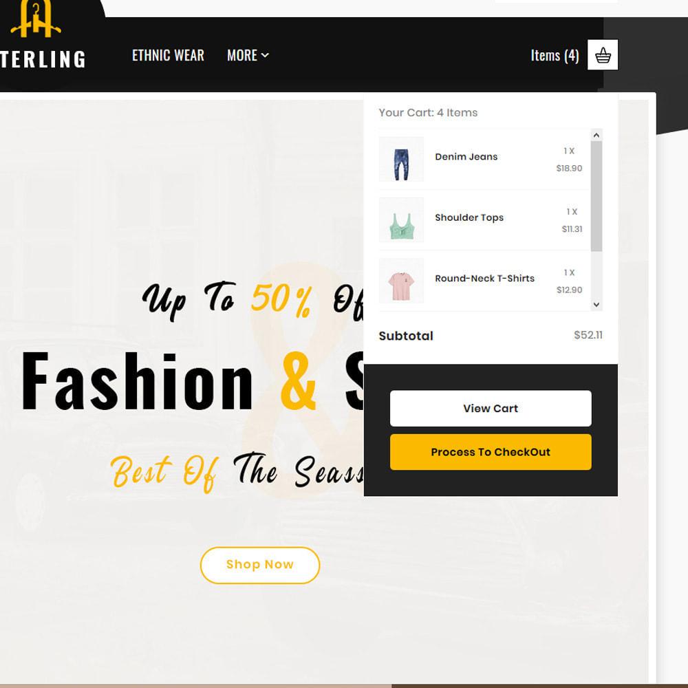 theme - Мода и обувь - Sterling–Fashion Big Store - 7