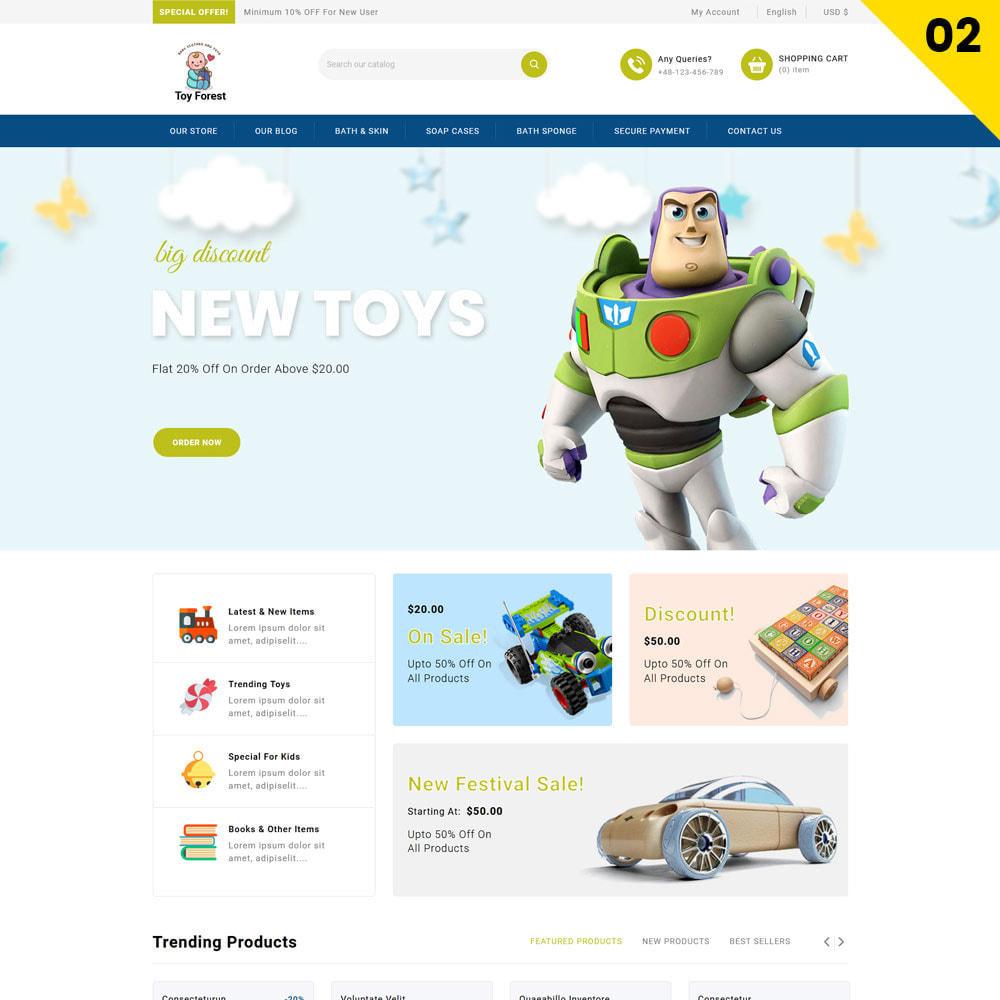theme - Niños y Juguetes - ToyForest - La tienda Mega Kids - 4