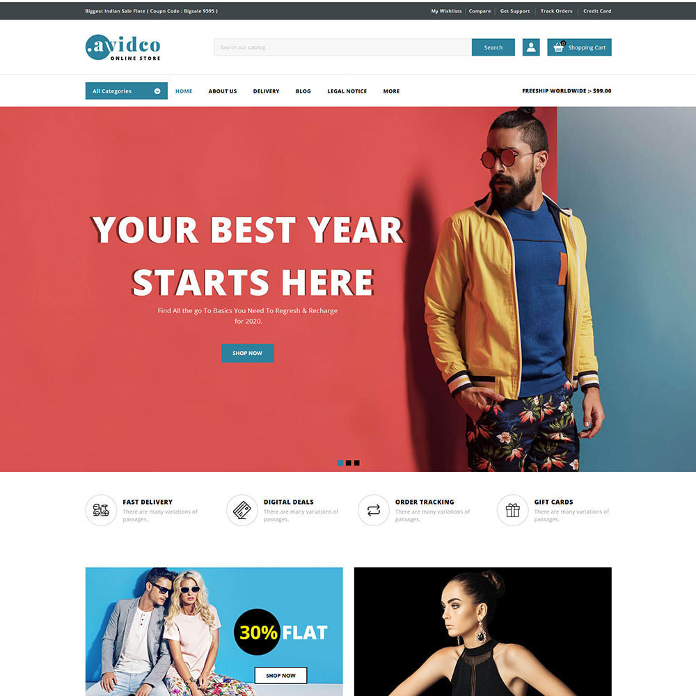 theme - Moda & Calzature - Avidco - Mega Store - 2