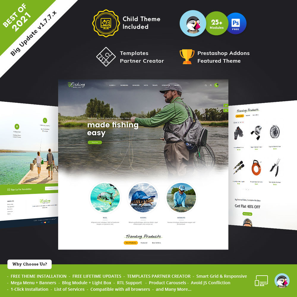 theme - Sports, Activities & Travel - Fishing Equipment - 1
