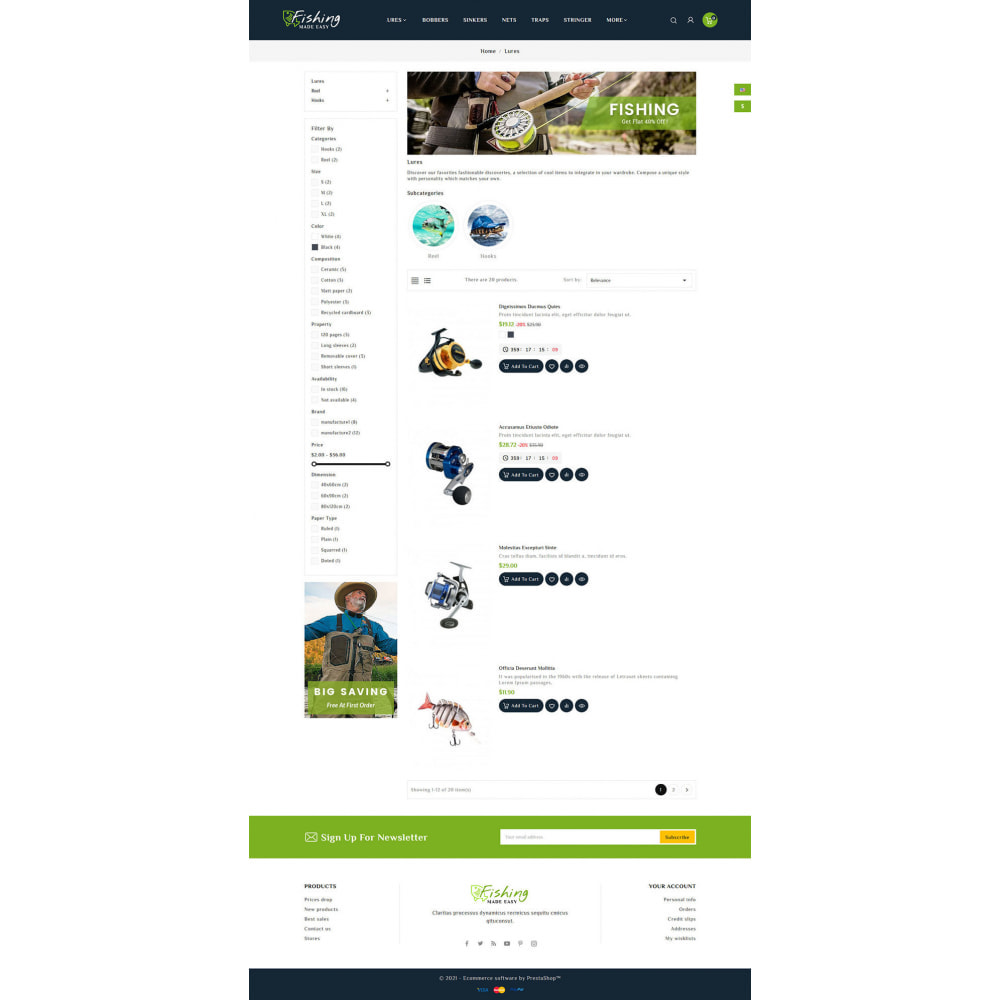 theme - Sport, Activiteiten & Reizen - Fishing Equipment - 4