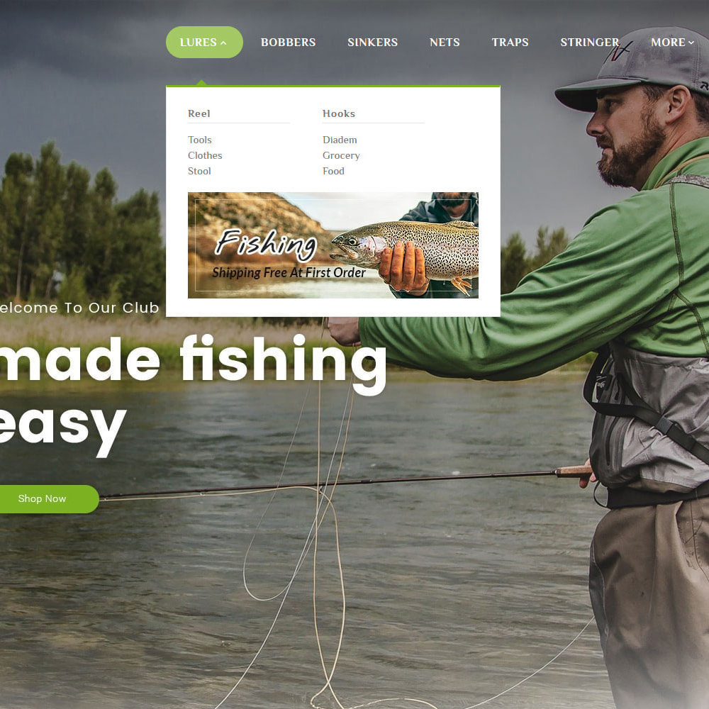 theme - Sport, Activiteiten & Reizen - Fishing Equipment - 10