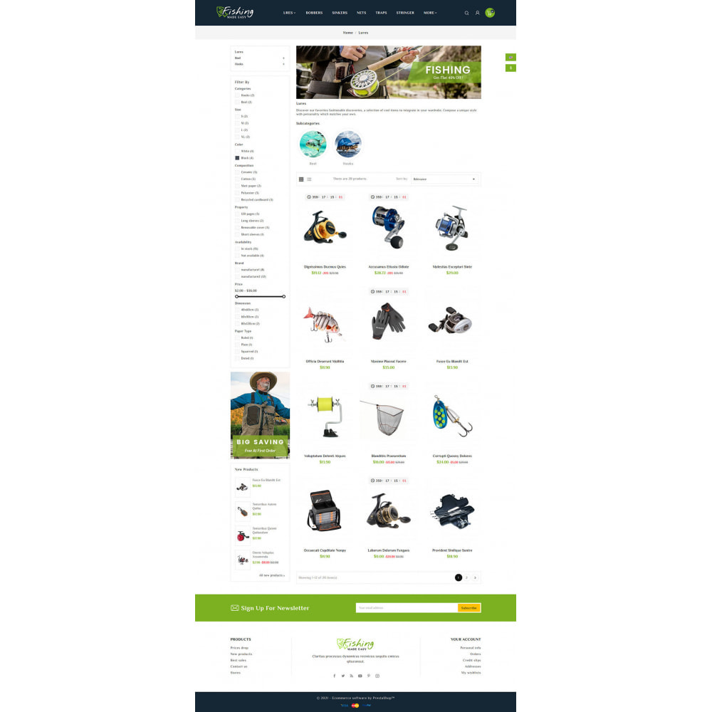 theme - Sport, Rozrywka & Podróże - Fishing Equipment - 4