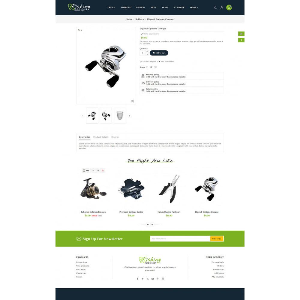 theme - Sport, Rozrywka & Podróże - Fishing Equipment - 6