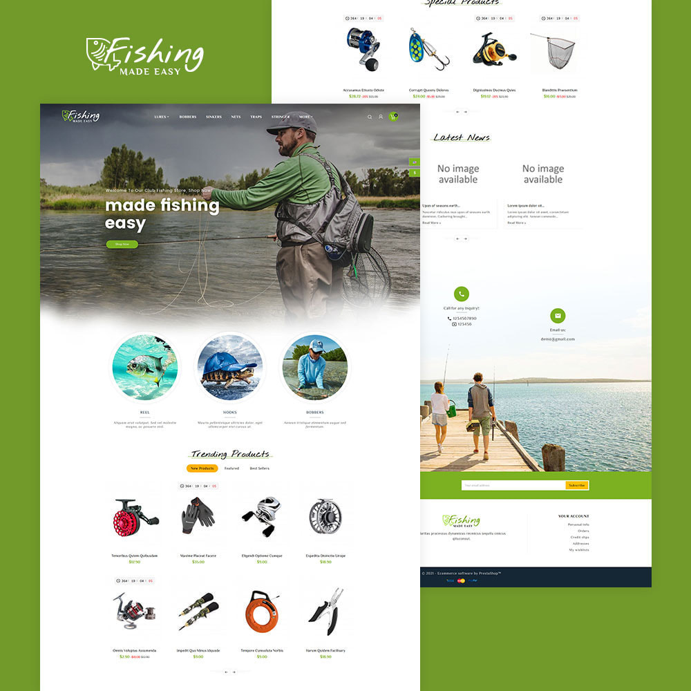 theme - Desporto, Actividades & Viagens - Fishing Equipment - 2