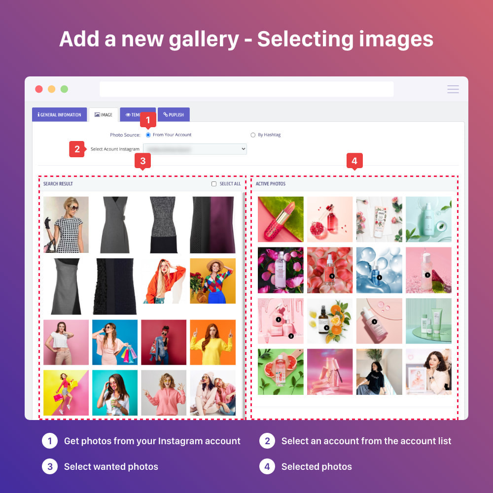 module - Sliders & Galeries - Shoppable Instagram Feed: carousel, slider, gallery - 9