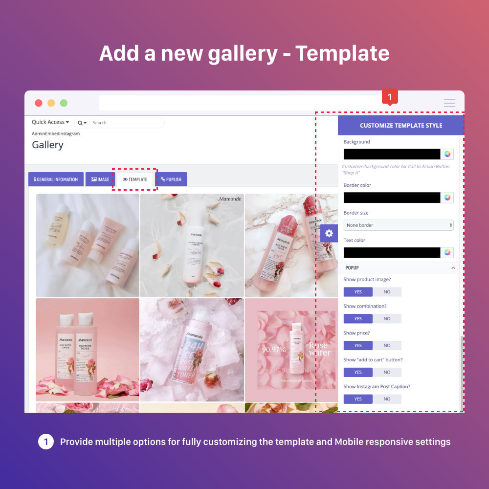 module - Sliders & Galeries - Shoppable Instagram Feed: carousel, slider, gallery - 12