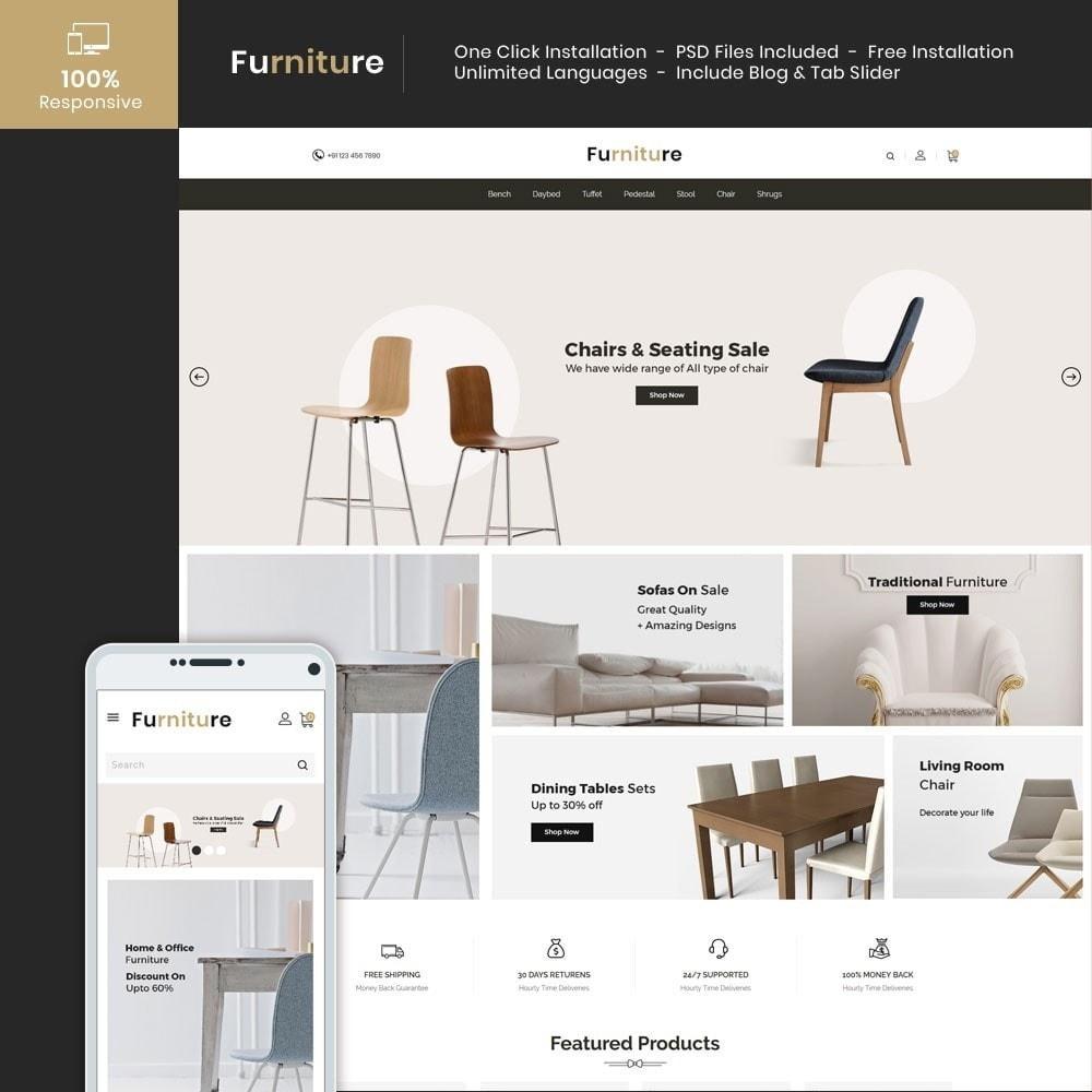 theme - Dom & Ogród - Interior Designer - Furniture Wood Store - 1