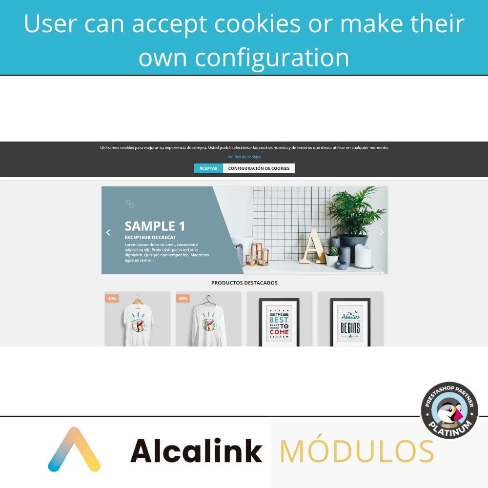 module - Wzmianki prawne - Cookies configuration law - 2021 - 3