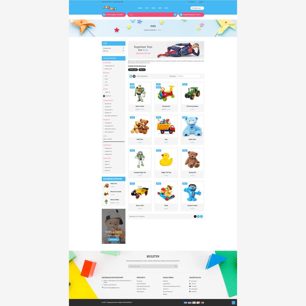 theme - Zabawki & Artykuły dziecięce - Sklep dla dzieci - 2