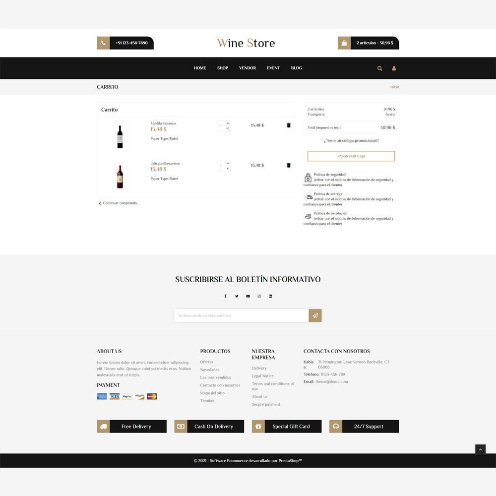 theme - Bebidas y Tabaco - Tienda de vino - 6