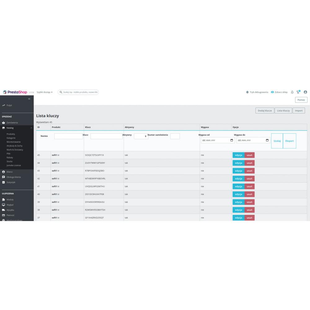 module - Bezpieczeństwa & Dostępu - Jumoke License sprzedaż kluczy do gier/programów + API - 1