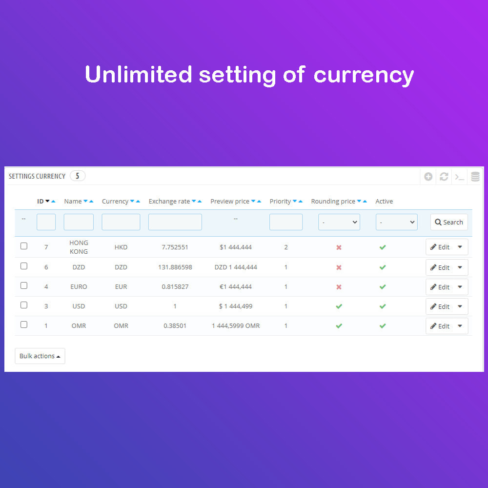 module - International & Localization - Auto Change Language, Currency - Format currency - 2