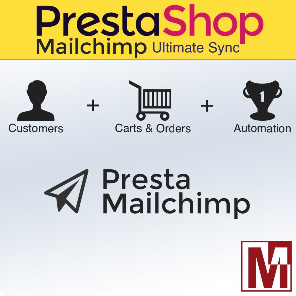 module - Рассылка новостей и SMS - Ultimate synchronization of Prestashop & MailChimp - 1