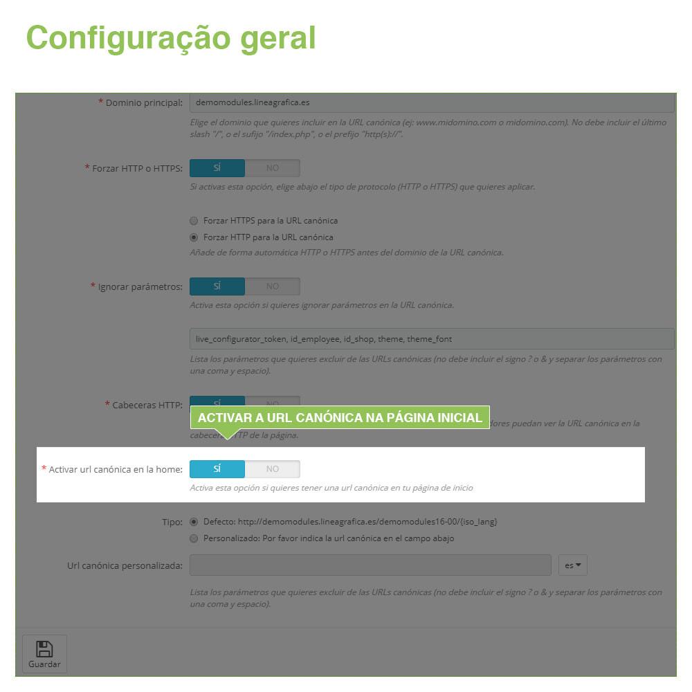 module - Gestão de URL & Redirecionamento - URLs canônicos para evitar conteúdo duplicado - 6