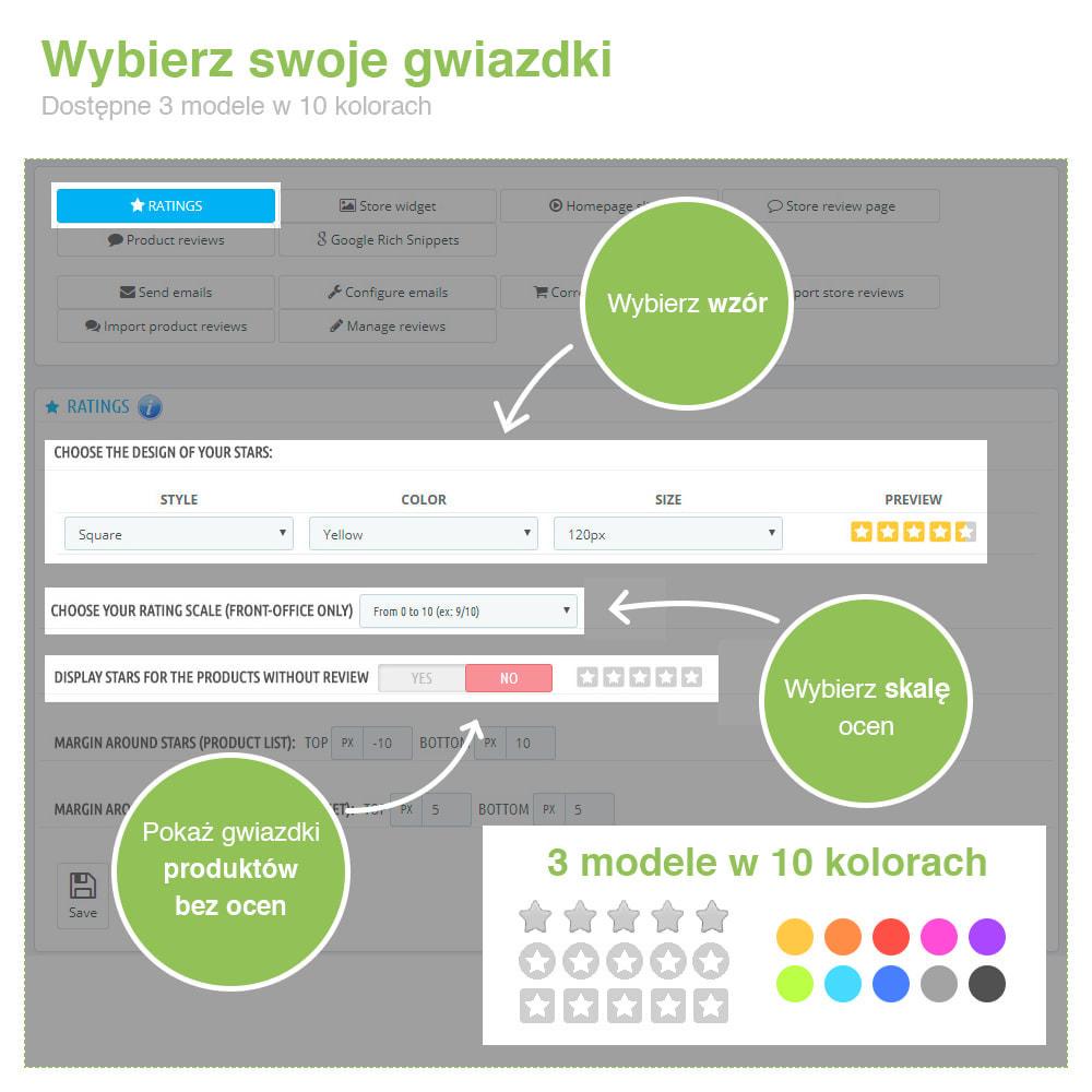 module - Opinie klientów - Reviews: Recenzje Sklepu i Produktów + Rich Snippets - 2