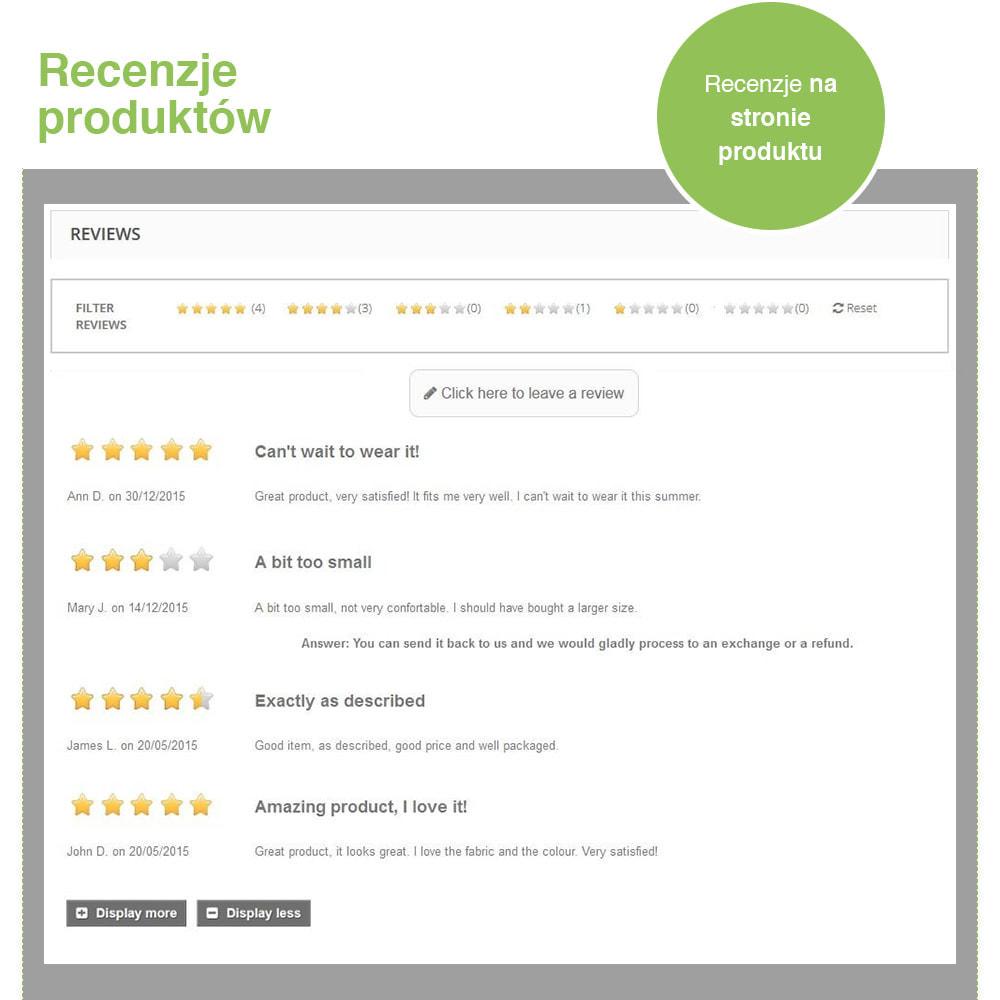 module - Opinie klientów - Reviews: Recenzje Sklepu i Produktów + Rich Snippets - 19