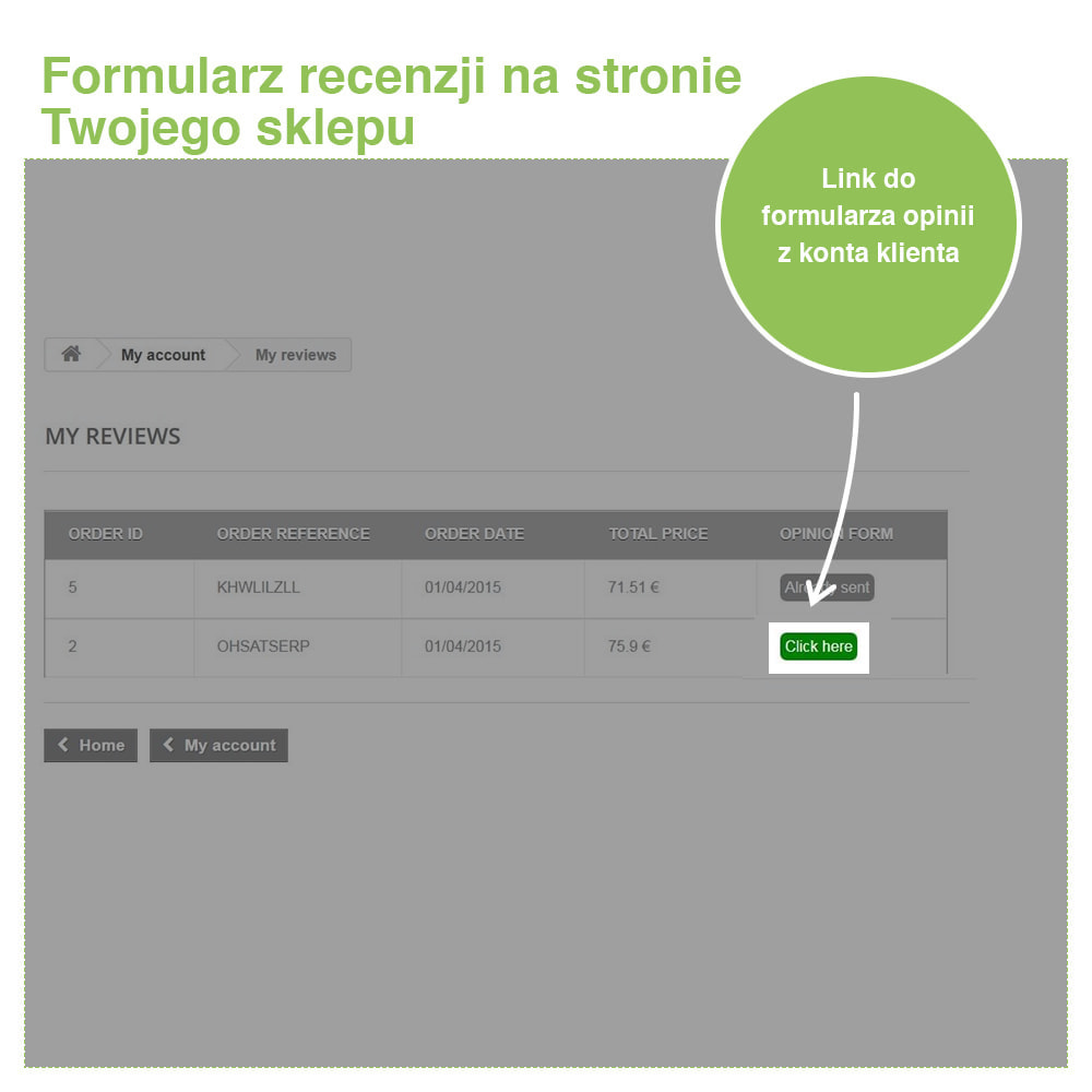 module - Opinie klientów - Reviews: Recenzje Sklepu i Produktów + Rich Snippets - 30