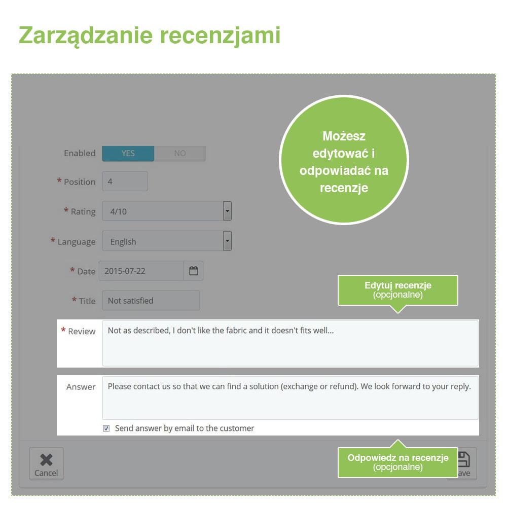 module - Opinie klientów - Reviews: Recenzje Sklepu i Produktów + Rich Snippets - 36