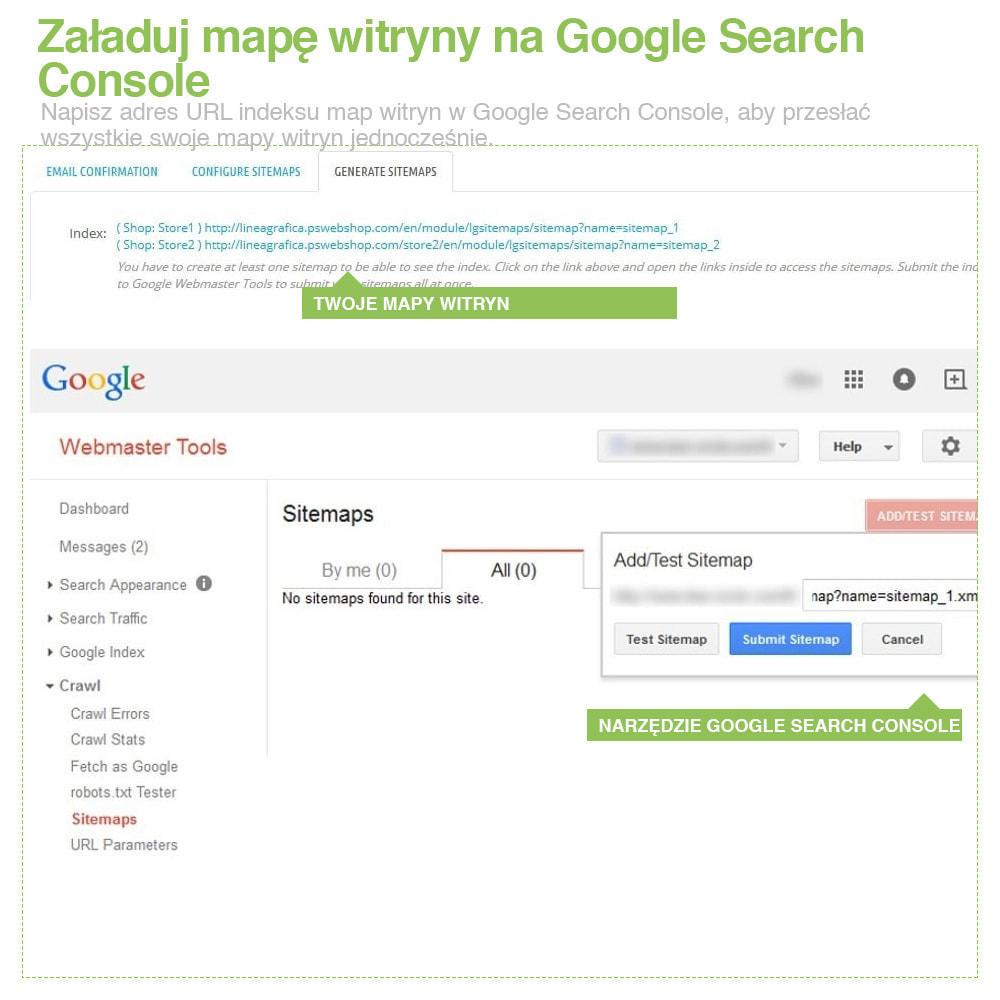 module - SEO (Pozycjonowanie naturalne) - Xml Sitemap PRO: Generator Mapy Witryn – SEO - 15